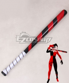 DC Comics Batman Arkham Knight Harley Quinn Baseball pole Cosplay Weapon Prop