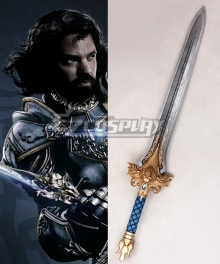 Warcraft film King Llane Wrynn I Sword Cosplay Weapon Prop