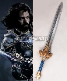Warcraft film King Llane Wrynn I Sword Cosplay Weapon Prop