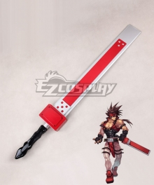 Guilty Gear Sol Badguy Sword Cosplay Weapon Prop