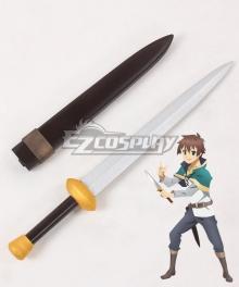 Kono Subarashii Sekai ni Shukufuku o Kazuma Sato Sword Cosplay Weapon Prop