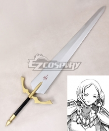 Claymore Sophia Sword Cosplay Weapon Prop