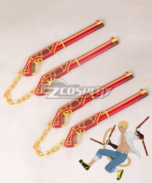 RWBY Haven Academy Team SSSN Sun WuKong Jingubang Ruyibang Guns Stick Cosplay Weapon Prop