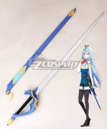 Undefeated Bahamut Chronicle Krulcifer Einfolk Movable Sword Cosplay Weapon Prop - B Edition