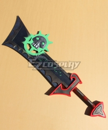 World of Warcraft WOW Ashbringer Black Sword Cosplay Weapon Prop