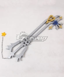 Kingdom Hearts Sora Roxas Oathkeeper Keyblade Cosplay Weapon Prop - Simple type