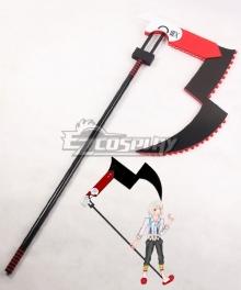 Tokyo Ghoul Tokyo Guru √A Juuzou Suzuya Rei 13's Jason Scythe Cosplay Weapon Prop