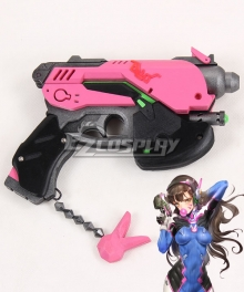 Overwatch OW D.Va DVa Hana Song Gun Cosplay Weapon Prop