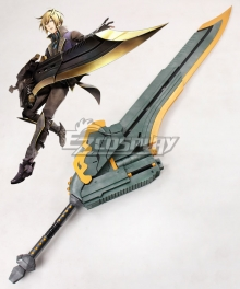 God Eater 2 Rage Burst Julius Visconti Sword Cosplay Weapon Prop