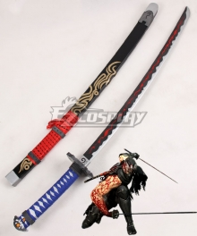 Ninja Gaiden 3 Shadow Warriors Ryu Hayabusa Sword Cosplay Weapon Prop