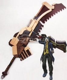 God Eater Soma Schicksal Jinki Sword Cosplay Weapon Prop - A Edition
