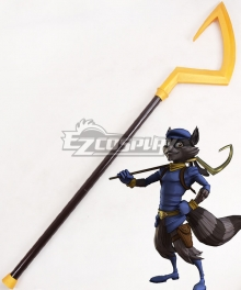 Sly Cooper Thieves in Time Sly Cooper Staves Cosplay Weapon Prop