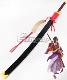 Tales of Berseria Rokurou Rangetsu Sword Cosplay Weapon Prop - No Blade