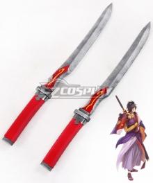 Tales of Berseria Rokurou Rangetsu Two Dagger Cosplay Weapon Prop