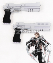 Trinity Blood Tres Iqus Gunslinger Two Gun Cosplay Weapon Prop