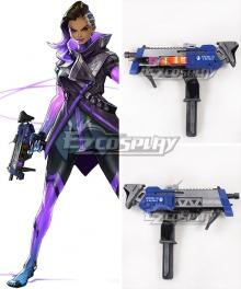 Overwatch OW Sombra ░░░░░░ Gun Cosplay Weapon Prop