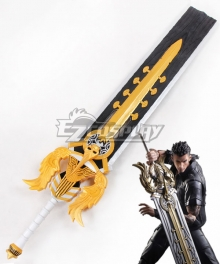 Final Fantasy XV FFXV Gladiolus Amicitia Sword Cosplay Weapon Prop