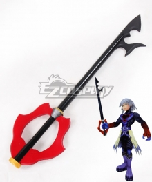 Kingdom Hearts Riku Keybladeof heart Key blade Cosplay Weapon Prop