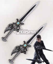 Final Fantasy XV FFXV Ignis Stupeo Scientia Two Sword Cosplay Weapon Prop