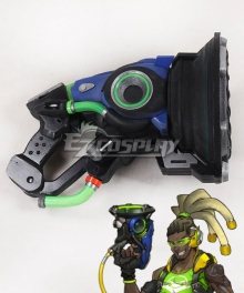 Overwatch OW Lucio Correia dos Santos Sonic Amplifier Gun Cosplay Weapon Prop