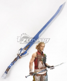 Final Fantasy XII FF12 Basch Fon Ronsenburg Sword Cosplay Weapon Prop