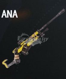 Overwatch OW Ana Amari Wasteland Gun Cosplay Weapon Prop