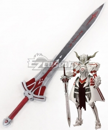 Fate Apocrypha Saber of Red Mordred Sword Cosplay Weapon Prop - Premium Edition