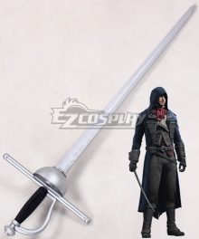Assassin's Creed: Unity Arno Victor Dorian Sword Cosplay Weapon Prop
