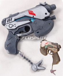 Overwatch OW D.Va DVa Hana Song White Rabbit Gun Cosplay Weapon Prop