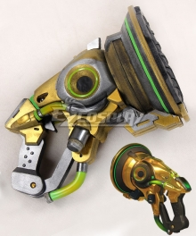 Overwatch OW Lucio Correia dos Santos Sonic Amplifier Gun Cosplay Weapon Prop - A Edition