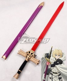 Seraph of the End Mikaela Hyakuya C Sword Cosplay Weapon Prop