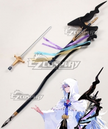 Fate Grand Order Caster Merlin Staves Cosplay Weapon Prop