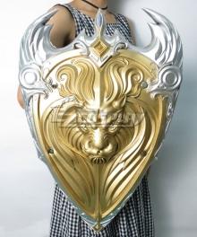 Warcraft The Beginning World of Warcraft WOW King Llane Wrynn I Gold Lion Shield Cosplay Weapon Prop