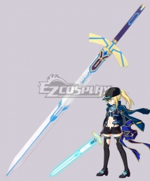 Fate Grand Order Mysterious Heroine X Assassin Sword Cosplay Weapon Prop