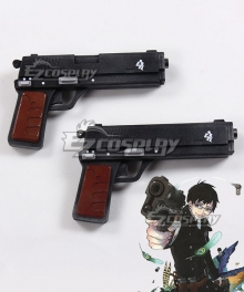 Blue Exorcist Kyoto Saga Yukio Okumura Two Guns Cosplay Weapon Prop