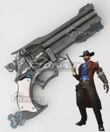 Overwatch OW Jesse McCree Riverboat Gun Cosplay Weapon Prop