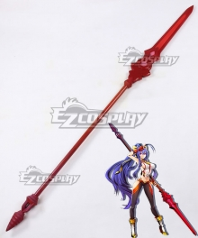 Blazblue Central Fiction XBlaze Code Embryo Mai Natsume Mai Hazuki Spear Cosplay Weapon Prop