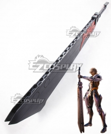 Final Fantasy Mobius Wol Sword Cosplay Weapon Prop
