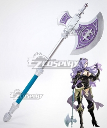 Fire Emblem Fates IF Camilla Kamira Axe Cosplay Weapon Prop