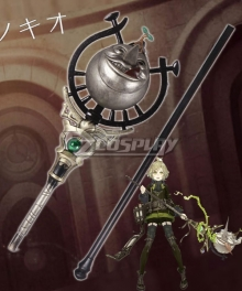 SINoALICE Pinocchio Crusher Wand Cosplay Weapon Prop
