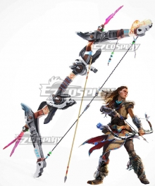 Horizon: Zero Dawn Aloy Bow and arrow Cosplay Weapon Prop