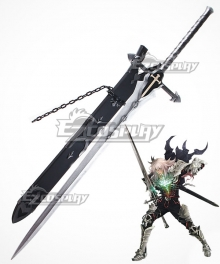 Fate Apocrypha Saber of Black Siegfried Sword Scabbard Cosplay Weapon Prop