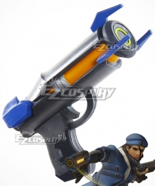 Overwatch OW Ana Amari Captain Amari Guardian Gun Cosplay Weapon Prop