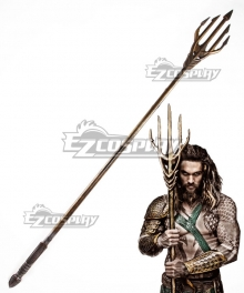 DC Justice League Aquaman Arthur Curry Trident Cosplay Weapon Prop
