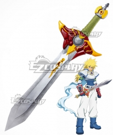 Tales of Destiny Stahn Aileron Sword Cosplay Weapon Prop