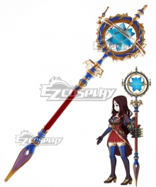 Fate Grand Order Caster Leonardo Da Vinci Staves Cosplay Weapon Prop