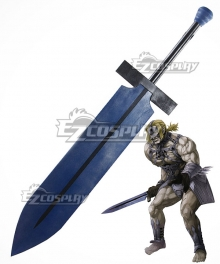Fate Apocrypha Berserker of Red Spartacus Sword Cosplay Weapon Prop