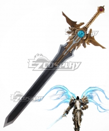 Diablo Tyrael Archangel El'druin Sword Cosplay Weapon Prop