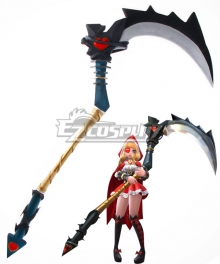 Mobile Legends Ruby Red Riding Hood Scythe Cosplay Weapon Prop
