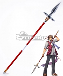 The Legend of Heroes: Trails of Cold Steel Gaius Worzel Spear Cosplay Weapon Prop